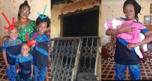 Nigerian Woman and Her Four Kids D!es In A Fire Outbreak - Photos 7
