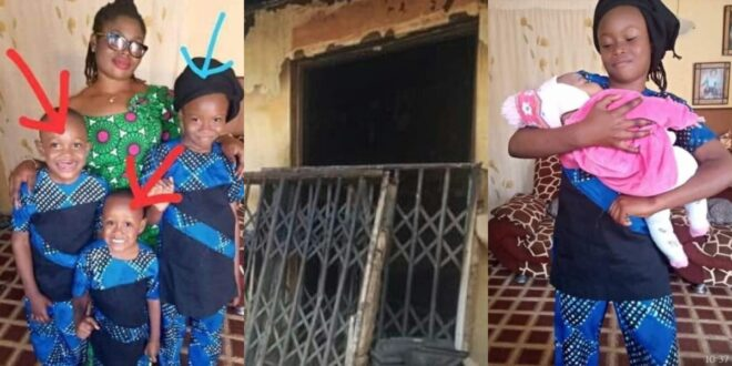 Nigerian Woman and Her Four Kids D!es In A Fire Outbreak - Photos 1