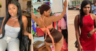 """I am born Bad""- Yaa Jackson says as she stirs Instagram with her tiny a$$. 24"