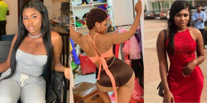 """I am born Bad""- Yaa Jackson says as she stirs Instagram with her tiny a$$. 1"