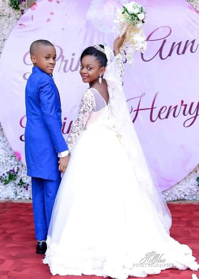 See photos Of The Youngest Kids Who Got Married 5