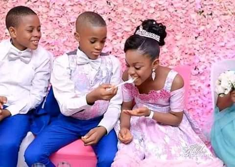 See photos Of The Youngest Kids Who Got Married 6