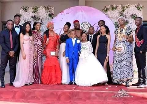 See photos Of The Youngest Kids Who Got Married 4