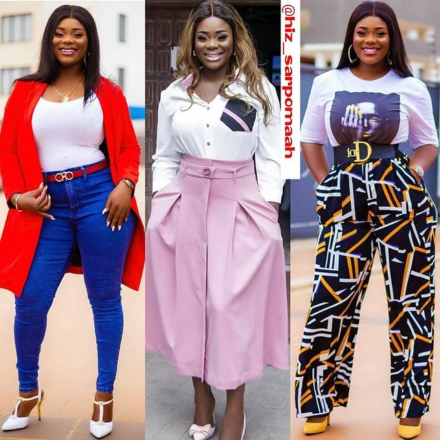 Akua GMB flaunts her banging body to show her ex-husband what he is missing. 5