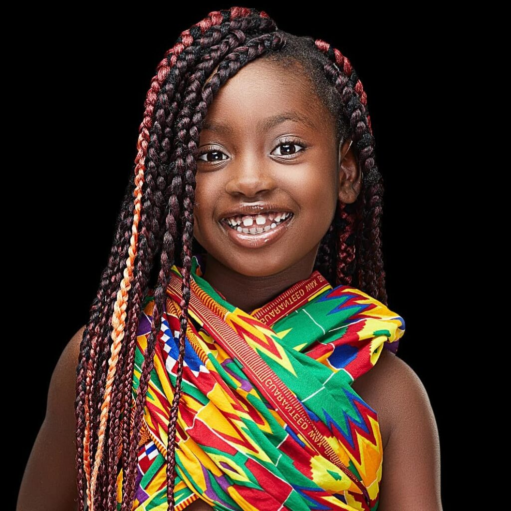See 10 beautiful photos of Okyeame Kwame's daughter that proves she is a star girl 8