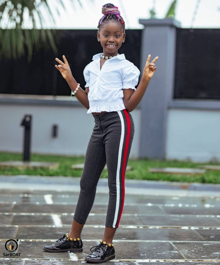 See 10 beautiful photos of Okyeame Kwame's daughter that proves she is a star girl 9