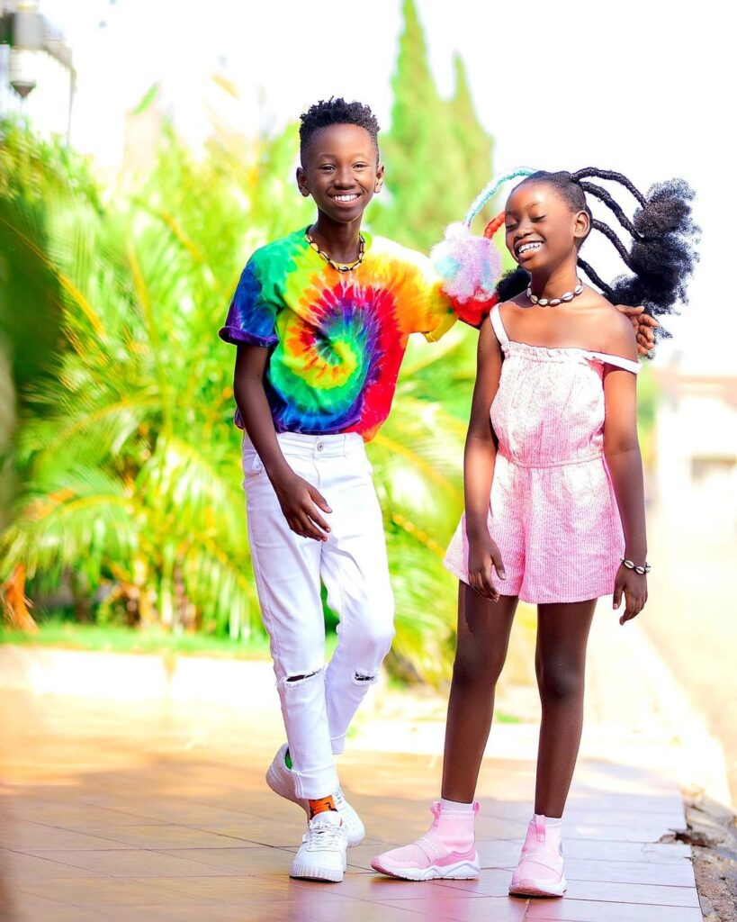 See 10 beautiful photos of Okyeame Kwame's daughter that proves she is a star girl 10