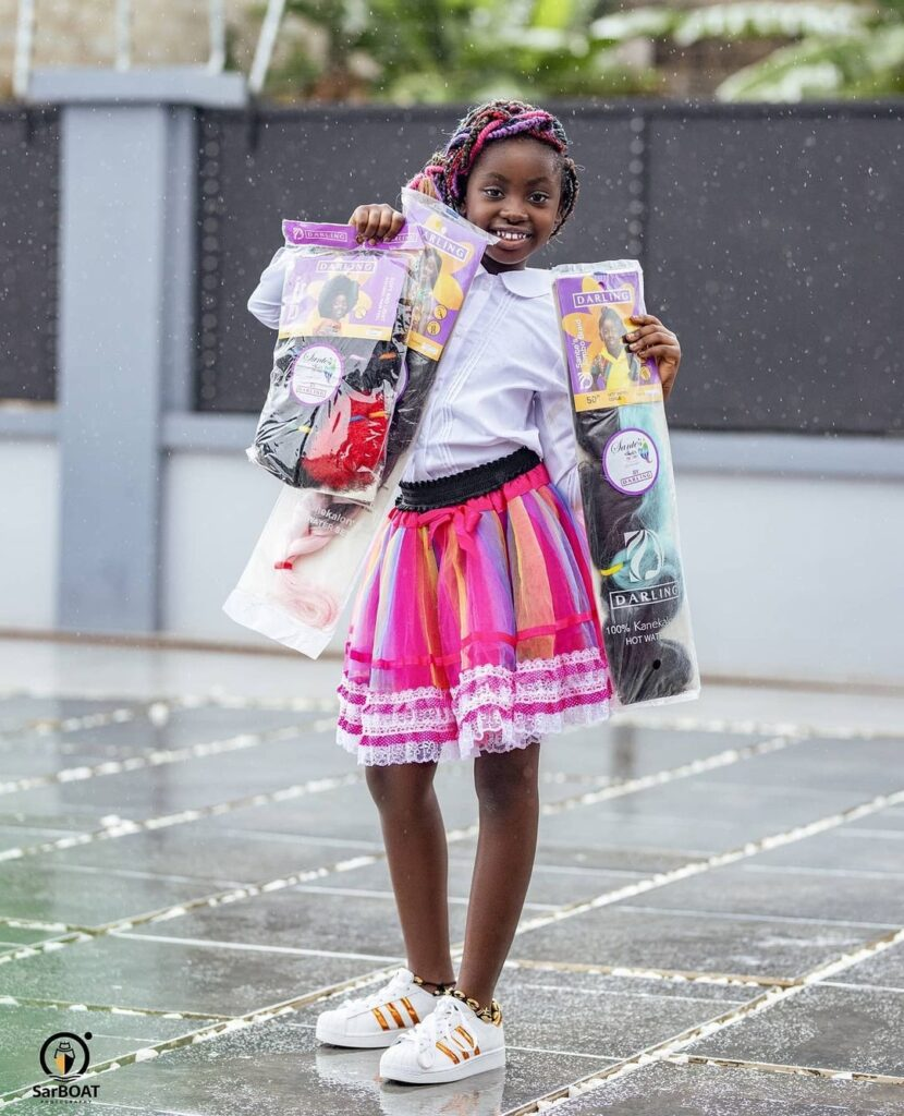 See 10 beautiful photos of Okyeame Kwame's daughter that proves she is a star girl 2