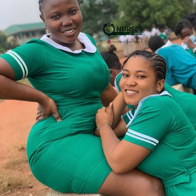 24 pictures of pretty Ghanaian Nurses that will make you want to marry a nurse. 3