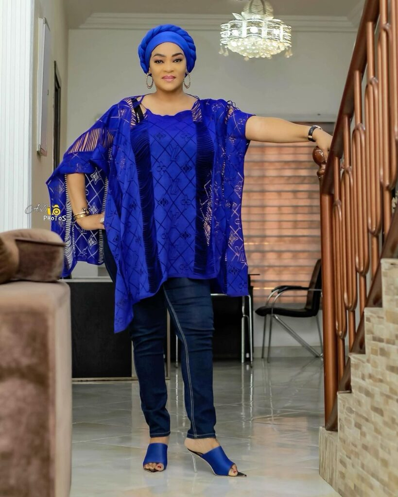 Age is just a number: See 10 beautiful photos of actress Kalsoume Sinare as she celebrates her birthday 5