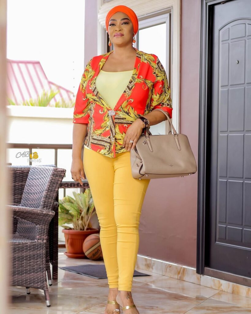 Age is just a number: See 10 beautiful photos of actress Kalsoume Sinare as she celebrates her birthday 9