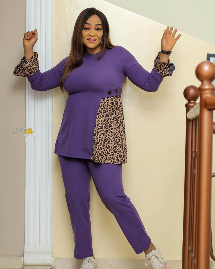 Age is just a number: See 10 beautiful photos of actress Kalsoume Sinare as she celebrates her birthday 8