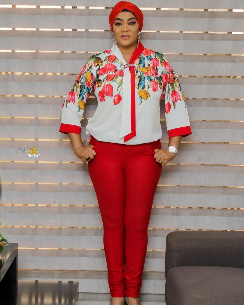 Age is just a number: See 10 beautiful photos of actress Kalsoume Sinare as she celebrates her birthday 7