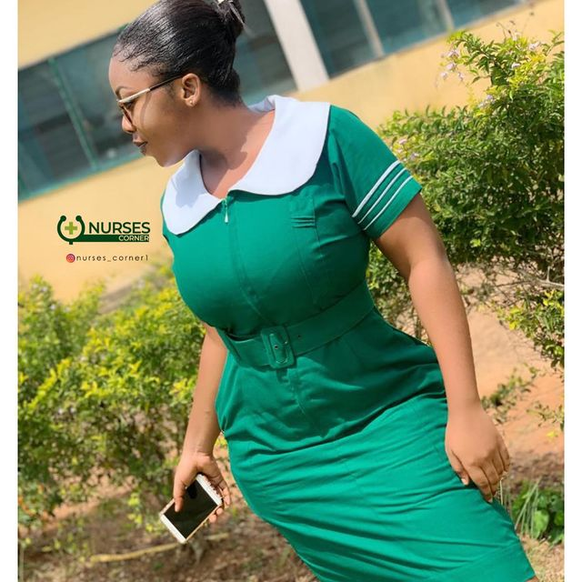 24 pictures of pretty Ghanaian Nurses that will make you want to marry a nurse. 14