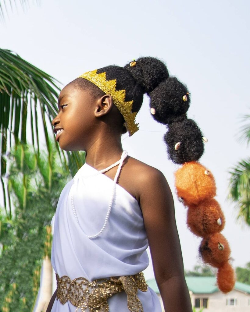 See 10 beautiful photos of Okyeame Kwame's daughter that proves she is a star girl 4