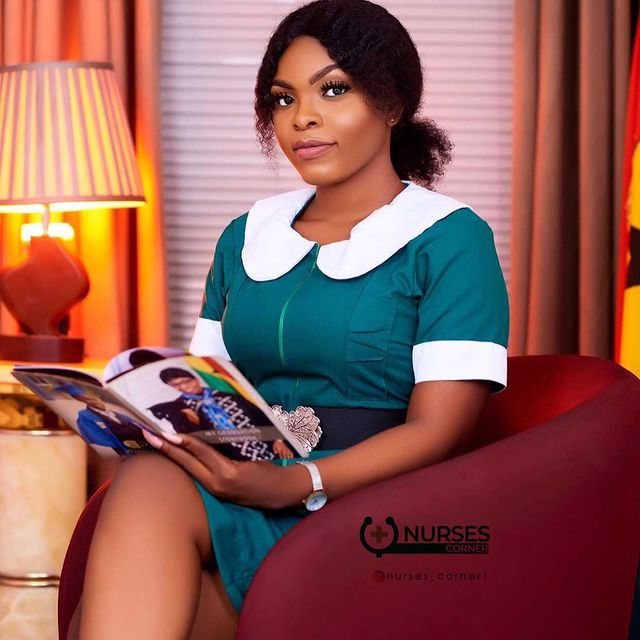 24 pictures of pretty Ghanaian Nurses that will make you want to marry a nurse. 19