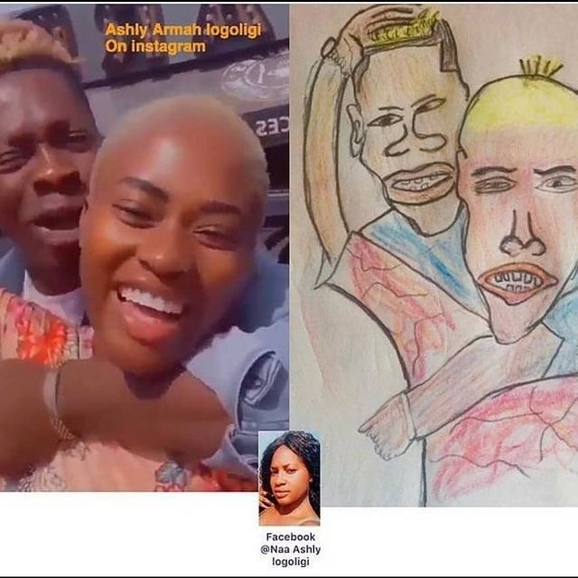 Pictures of your favorite celebrities and their professional drawing that are trending online. 4