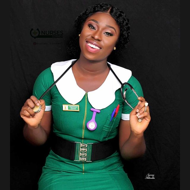 24 pictures of pretty Ghanaian Nurses that will make you want to marry a nurse. 24
