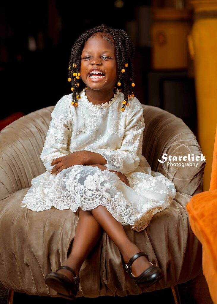 Beautiful deaf Ghanaian girl with blue eyes trills social media with stunning pictures 5