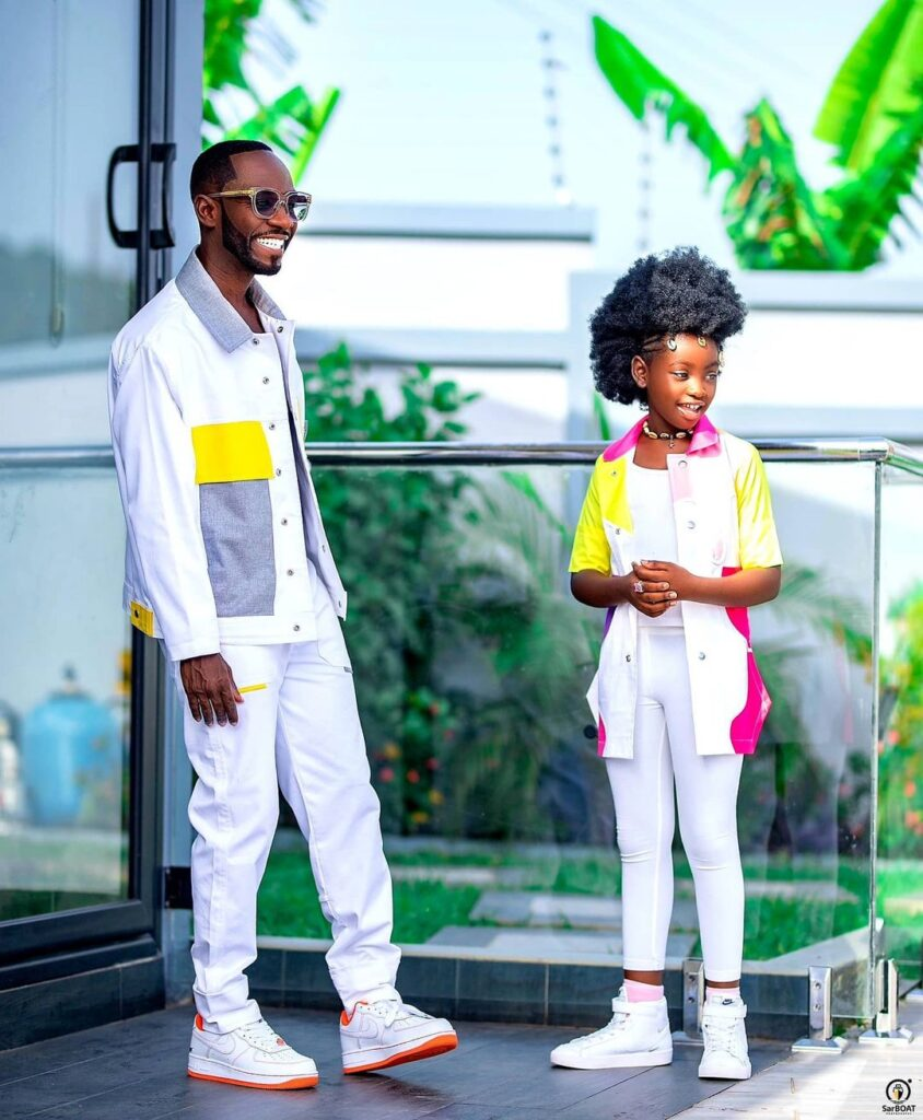 See 10 beautiful photos of Okyeame Kwame's daughter that proves she is a star girl 3