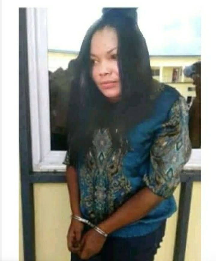 Sad photos of powerless Nana Agradaa in handcuff as she is being arrested again surfaces 3