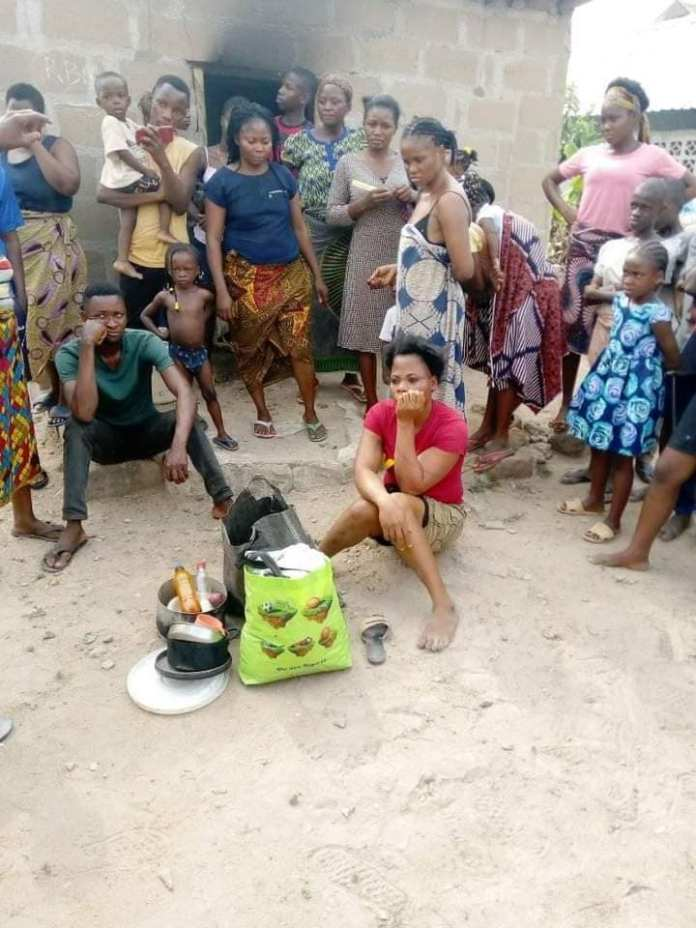 Angry lady sets boyfriend's house on fire after misunderstanding - Photos 3