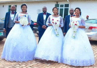 Beautiful as triplets welcome baby boys within the same period after marrying the same day - Photos 2