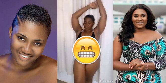 """Abena Korkor goes """"naket"""" again after she was sacked from TV3 (video) 1"""