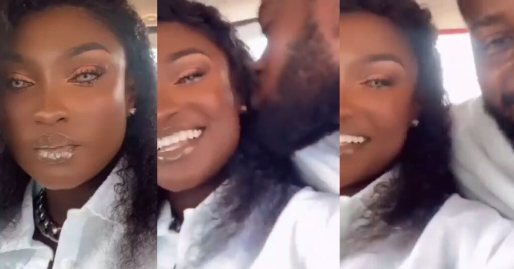Abena Moet drops a romantic video from her Honeymoon 2