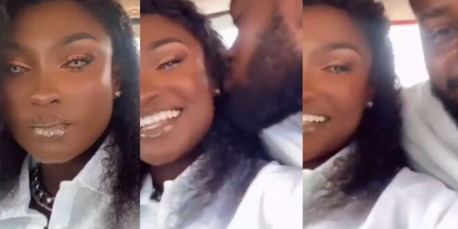 Abena Moet drops a romantic video from her Honeymoon 1