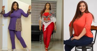 Age is just a number: See 10 beautiful photos of actress Kalsoume Sinare as she celebrates her birthday 11