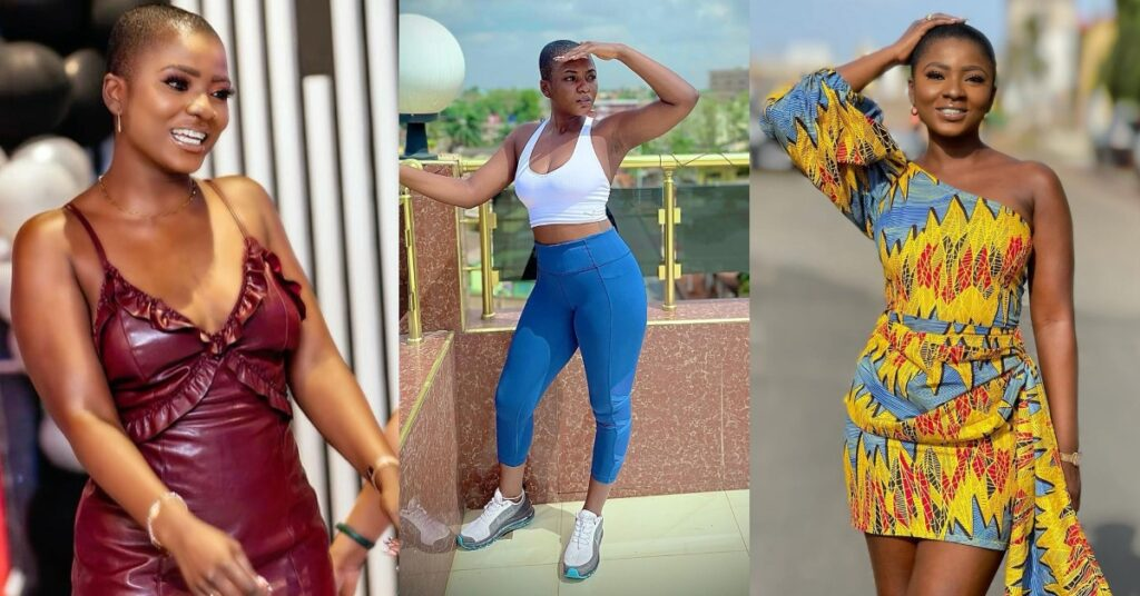 Ahuofe Patri storms the internet with beautiful and hot photo of herself at the gym 2