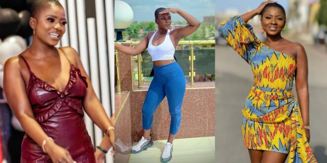 Ahuofe Patri storms the internet with beautiful and hot photo of herself at the gym 1