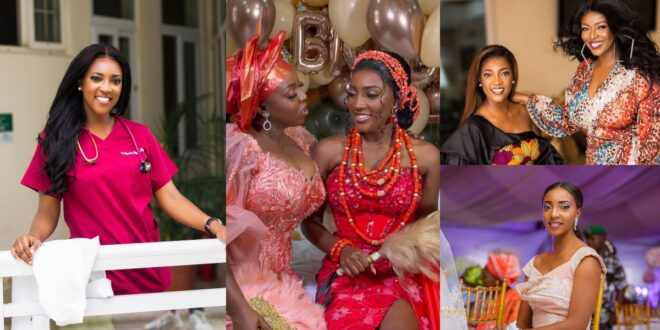 All you need to know about Roseline Okoro, the beautiful younger sister of Yvonne Okoro who just got married - Photos 1