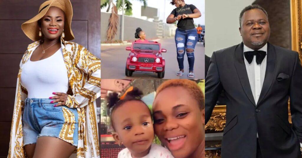 Beautiful photos of Akua GMB And Dr. Kwaku Oteng's daughter surfaces as she marks 2nd Birthday 2