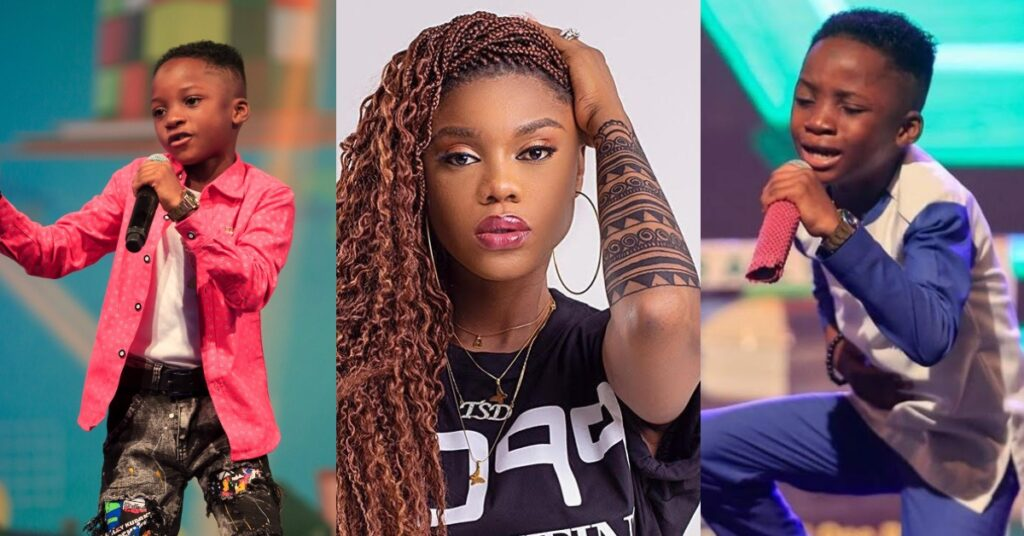 Becca donates salary to Winner of Talented Kids: Fans blasts 'stingy' Sarkodie and Shatta Wale 2