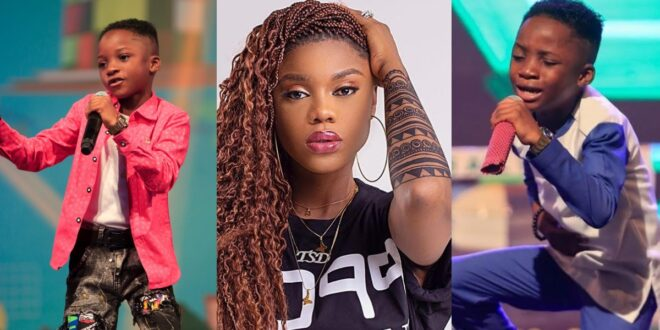 Becca donates salary to Winner of Talented Kids: Fans blasts 'stingy' Sarkodie and Shatta Wale 1