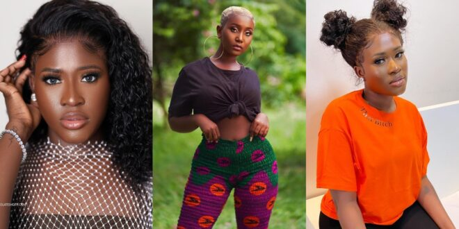 Blogger accuses Fella Makafui of being a lesbian dating Lharley before meeting Medikal. 1