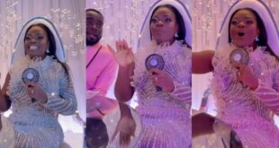 Bride takes over the Mic and delivers some hot raps at her own wedding (video) 1