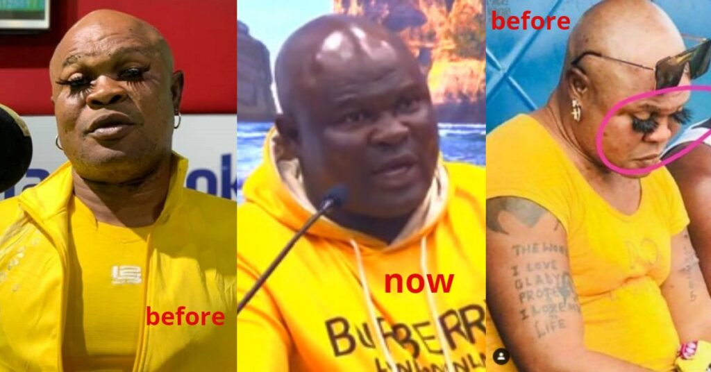 Bukom Banku appears again with a new look - see his photos after bleaching 4