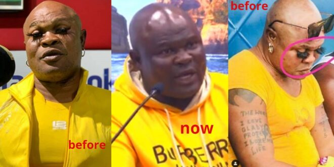 Bukom Banku appears again with a new look - see his photos after bleaching 1