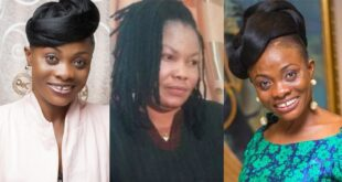 Check out Diana Asamoah's joyful reactions over Nana Agradaa's arrest 96