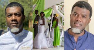"""Church wedding is not a Christian wedding"" – Reno Omokri claims 88"