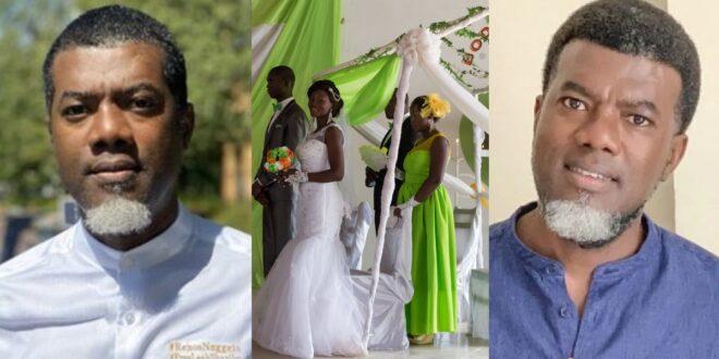 """Church wedding is not a Christian wedding"" – Reno Omokri claims 1"