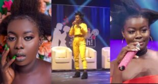 #Daterush: Fatima does a hot freestyle on stage to entertain fans (video) 1