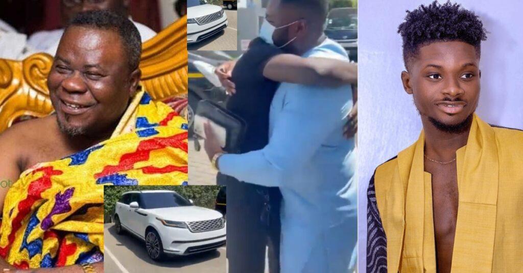 Dr. Kweku Oteng surprises Kuami Eugene with a brand new Range Rover - Video 2