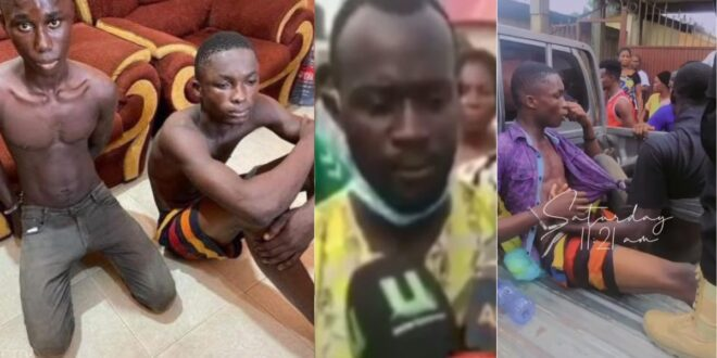 Father of one of the teen boys who k!lled a child for money in Kasoa speaks (video) 1