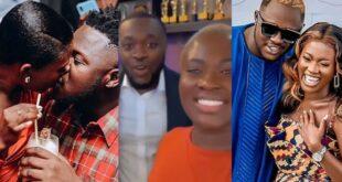 Fella Makafui shuns Medikal as she flex with Kennedy Osei in a new Video 5