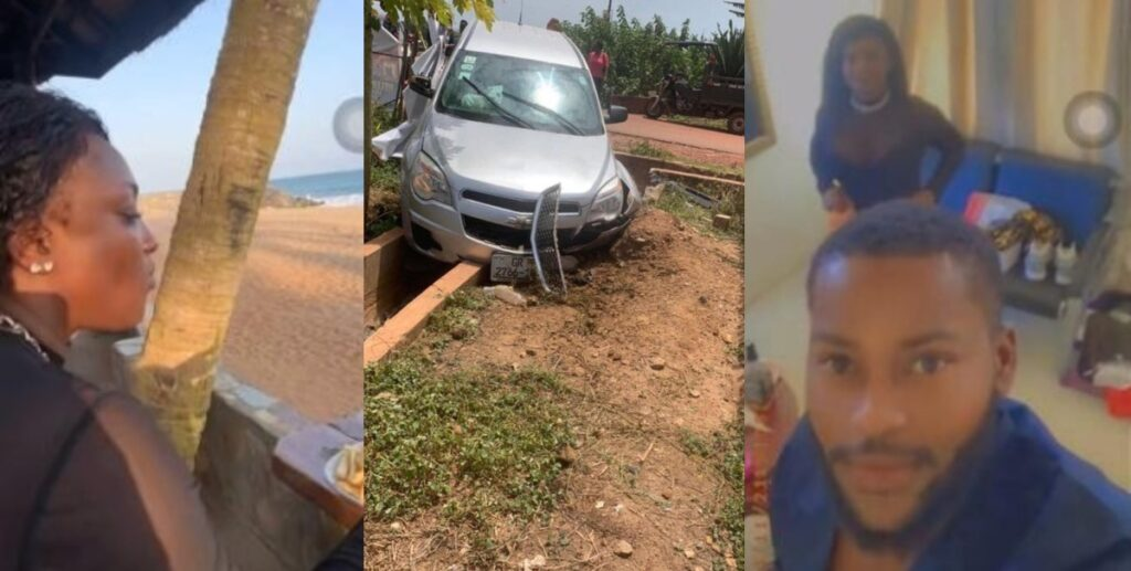 First video of Abena Moet after her accident surfaces - Watch 2