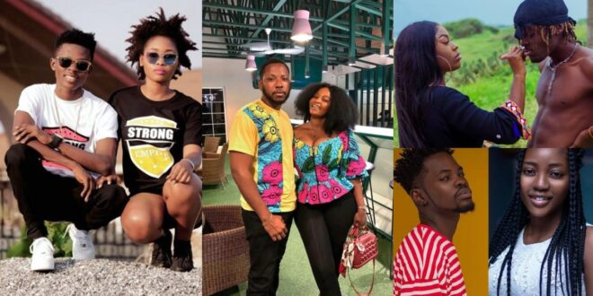 Ghanaian male Celebrities and their girlfriends, see how they look amazing together. 1